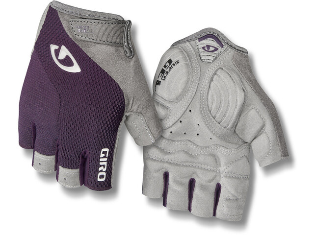Giro Strada Massa Gel Gloves Damen dusty purple/white
